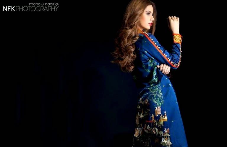 SaniaMaskatiyaPretCollection2014 wwwfashionhuntworldblogspot 1  - Sania Maskatiya Pret Eid Dresses 2014-2015