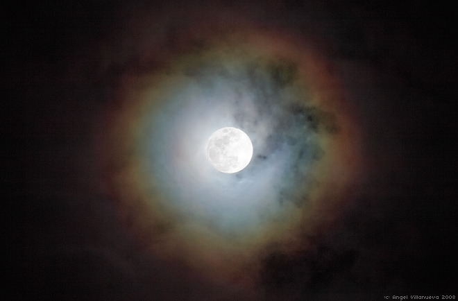 Red Ring Around Moon Meaning