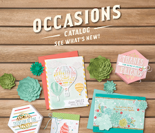 See the Occasions Catalog!