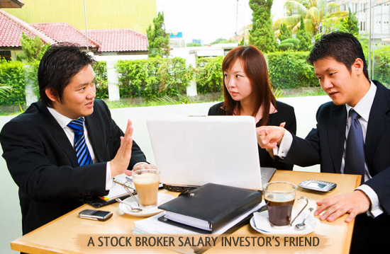 What is a commodities broker salary