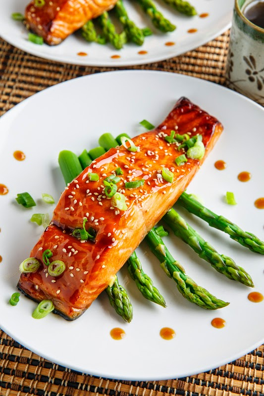 Salmon Teriyaki on Closet Cooking