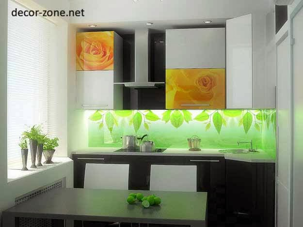 kitchen glass wall panels - designs, ideas, advantages