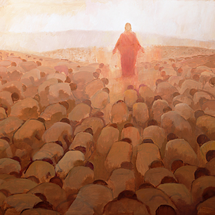 Image result for every knee shall bow painting