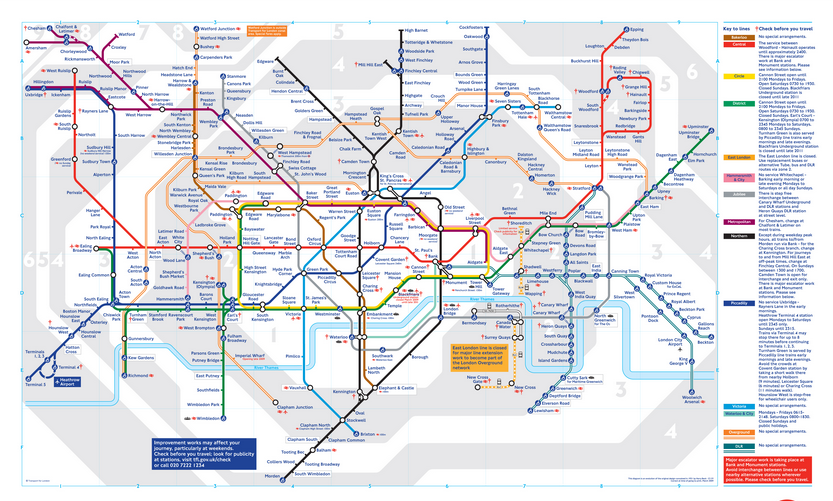Map Of London Underground Zones Pictures