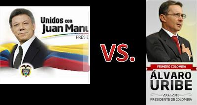 Uribe vs. Santos