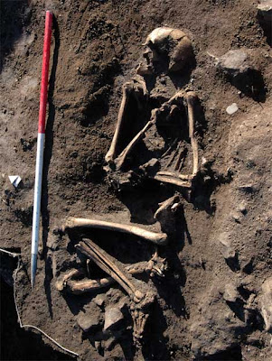 Viking skeleton found in Wales