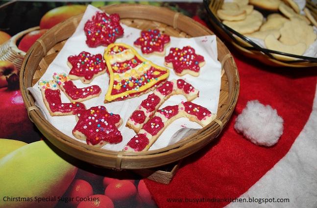 christmas special sugar cookies