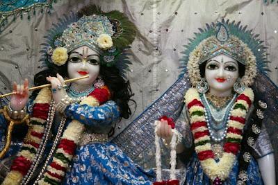 Sri Krishna, Srimati Radharani