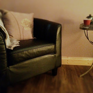 Comfy Chair in Relaxation Room in C & B Therapy Spa