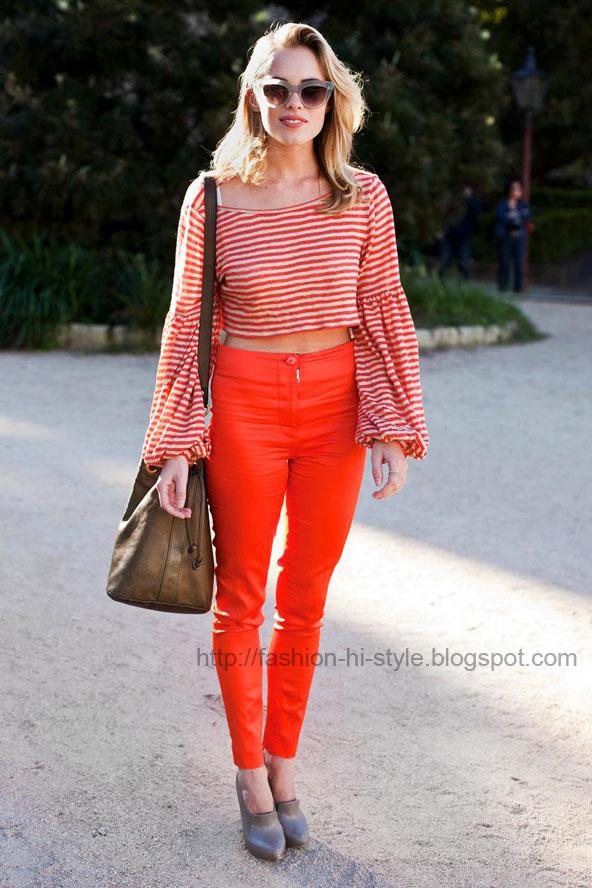 Fasion Talk Street Style Fashion From Australian Fashion Week