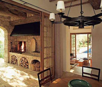 Estilo rustico casa rustica de piedra - Cosas rusticas para decorar casa ...