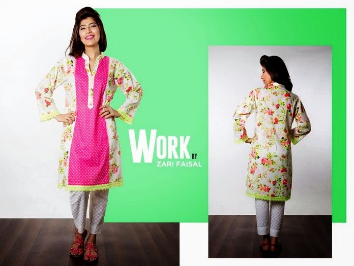 Zari Faisal Eid Collection 2014-2015