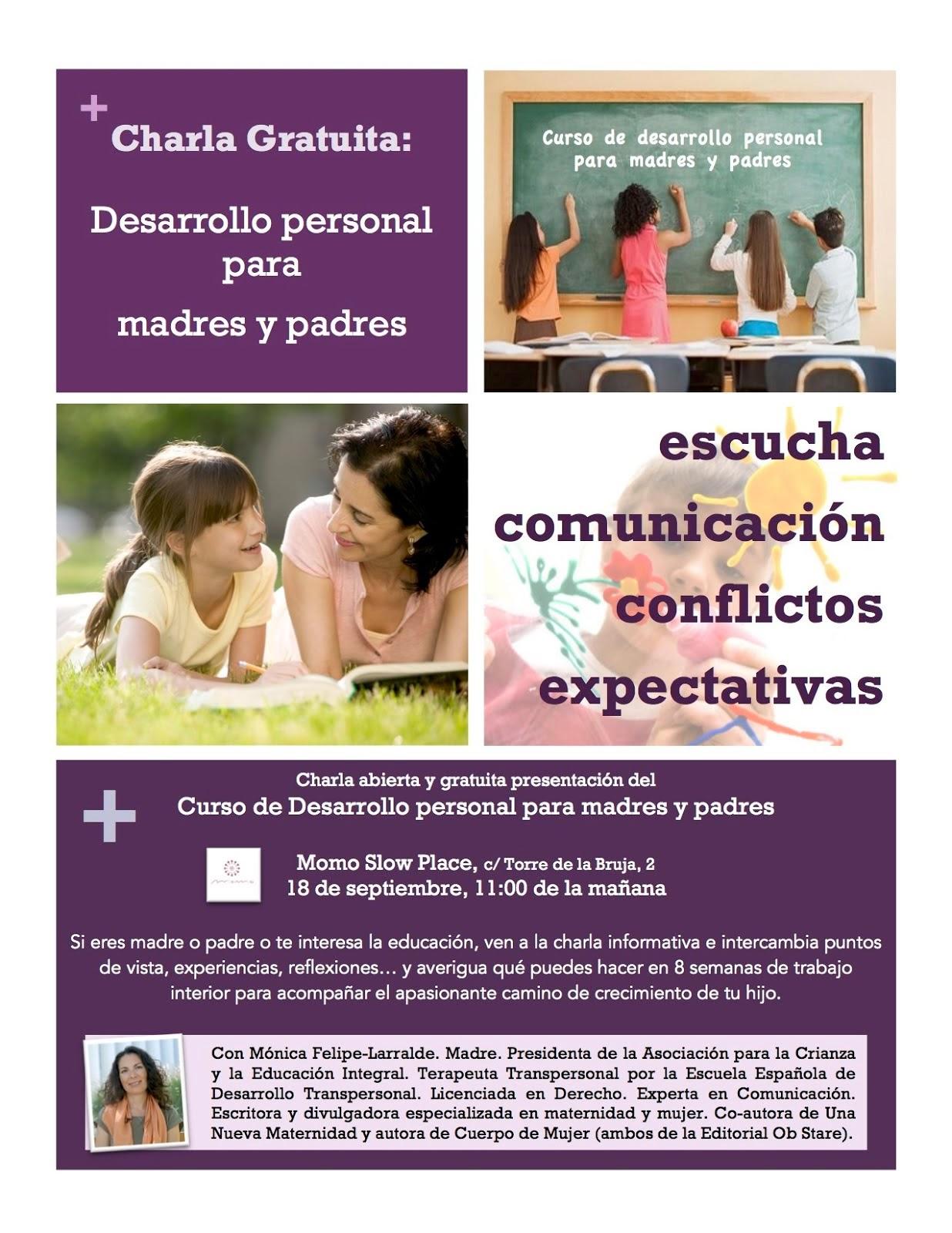 CURSO Desarrollo personal para madres y padres