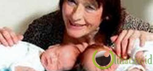 66 Tahun – Perempuan Melahirkan Tertua
