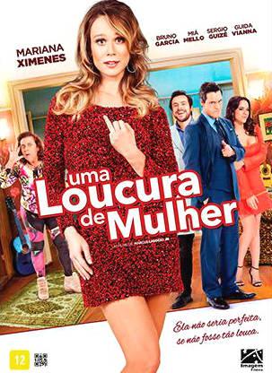 Filme Poster Uma Loucura de Mulher
