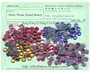 Plastic Round Button Supplier - Hong Kong Li Seng Co Ltd