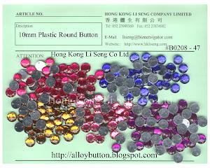 Plastic Round Button Supplier - Hong Kong Li Seng Co Ltd
