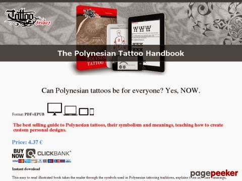 The Polynesian Tattoo Handbook Arts And Entertainment