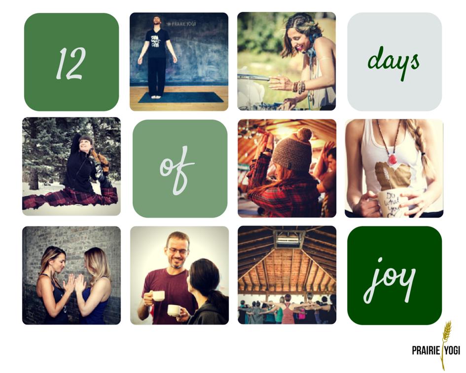 yoga challenge, 12 days of joy, prairie yogi, #12daysofjoy, Prana Vida Style, pantel photography, prairie love festival 2015