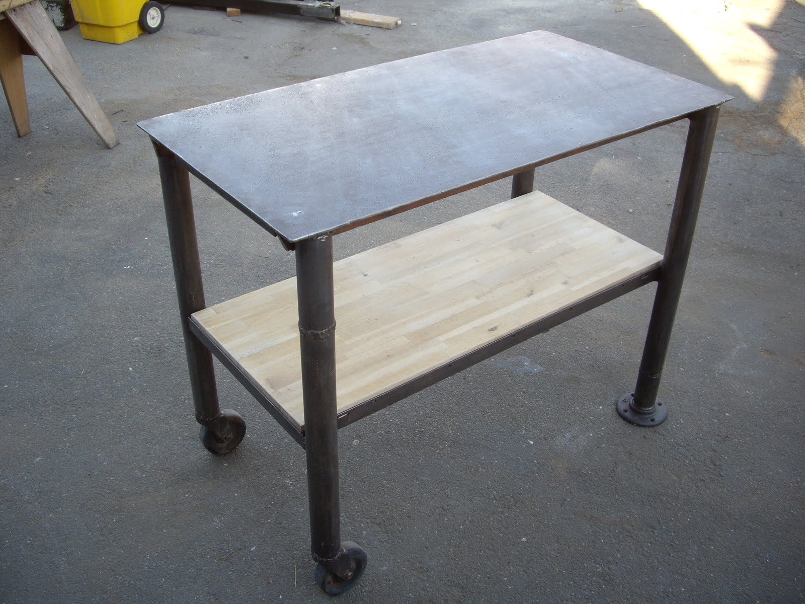 Another vintage steel industrial piece found at sacramento antique