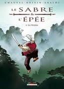 couverture Le Sabre et l'épée T1 chez Delcourt