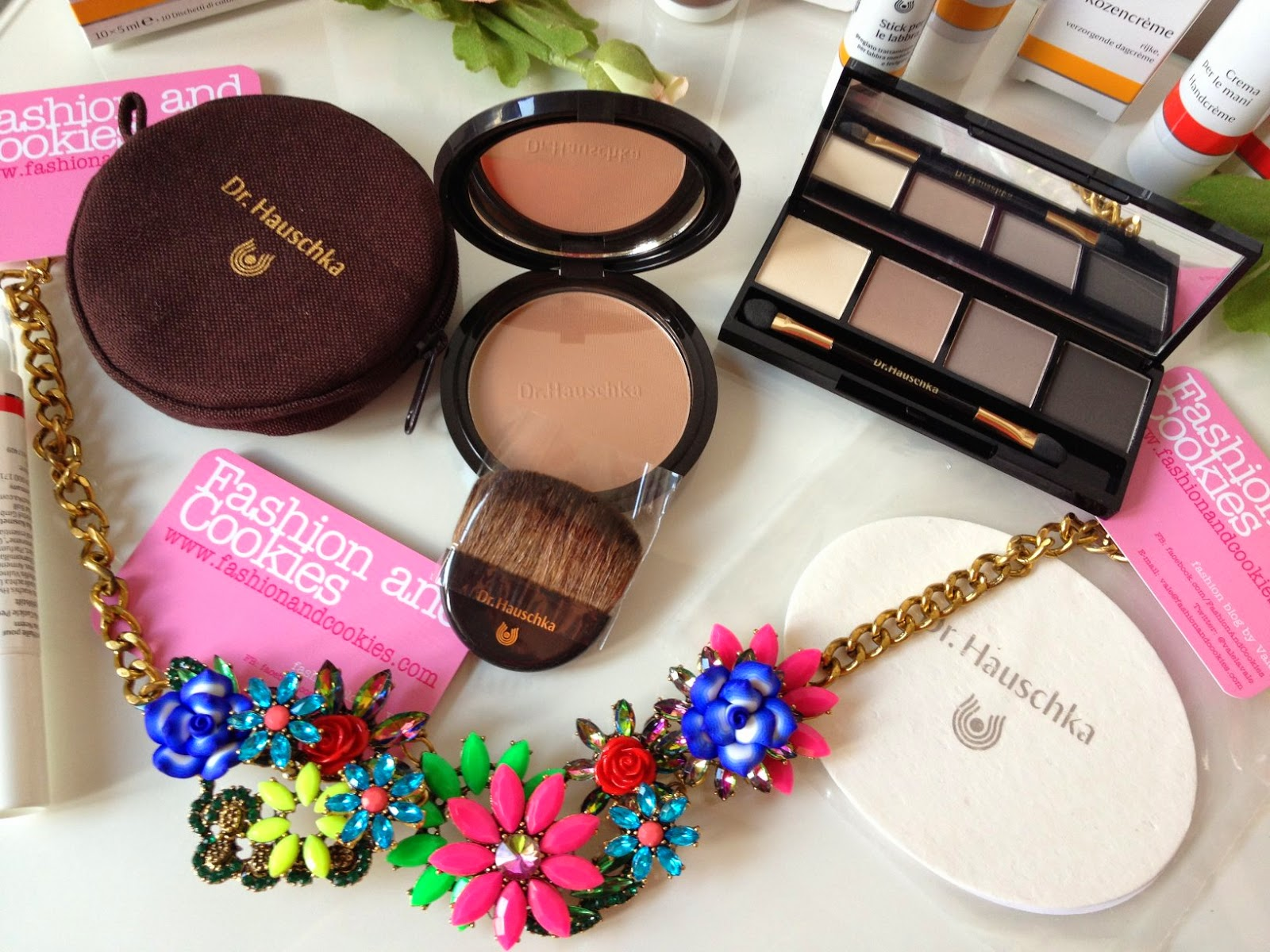 Dr Hauschka make up and skincare, bronzing powder, Fashion and Cookies, fashion blogger