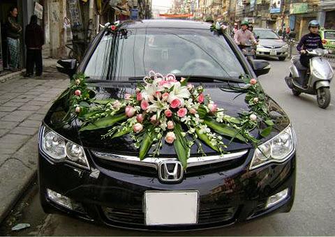cho thuê xe cưới Honda Civic tại Hà Nội