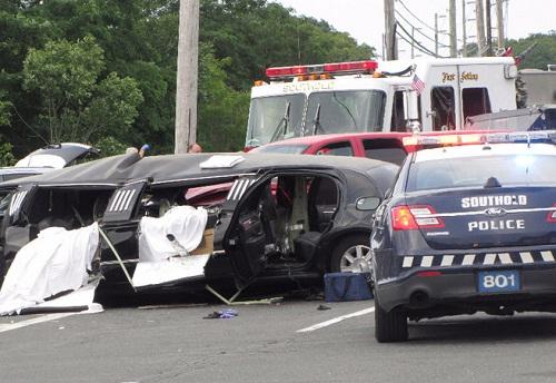 Limousine Crash on Long Island