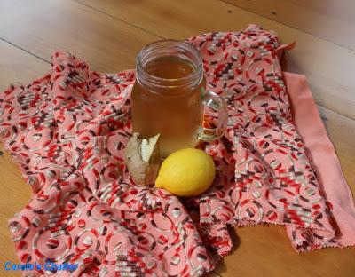 Carole's Chatter: Lemon Ginger Tea