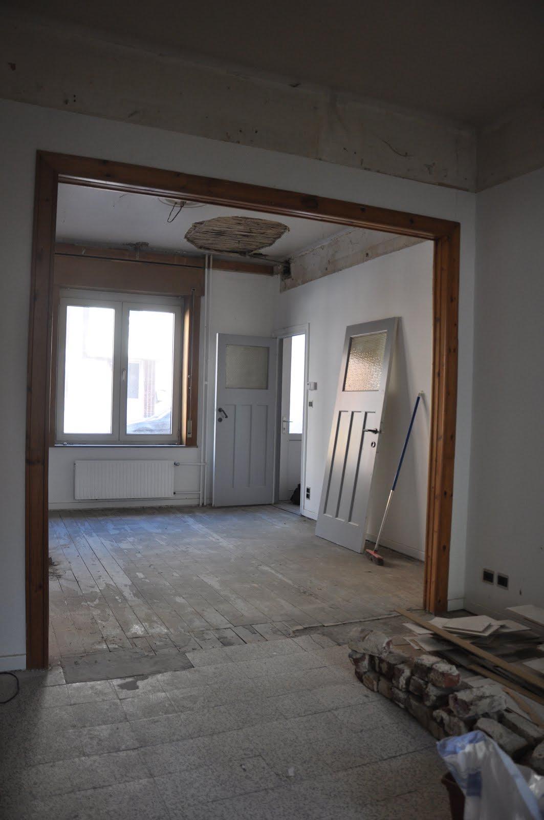 maison r novation motivation r novation du salon et de la salle manger. Black Bedroom Furniture Sets. Home Design Ideas