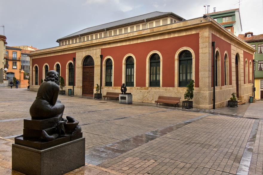 Plaza de Trascorrales de Oviedo
