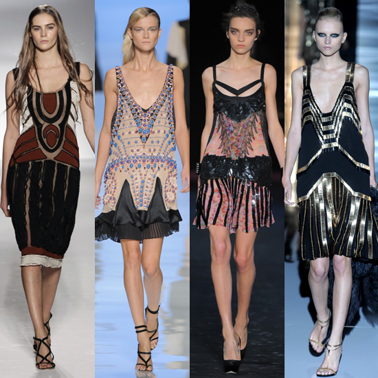 spring 2012,flapper dress,gucci,etro,cavalli,alberta ferretti