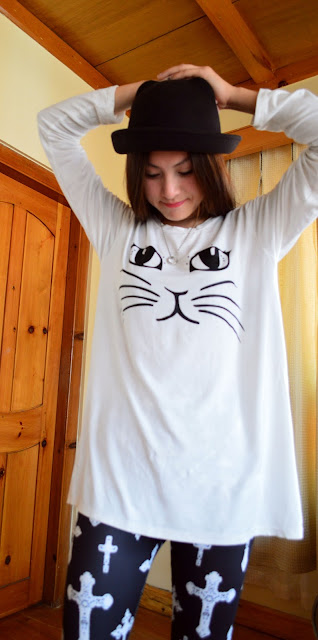 cat inspiration shirt