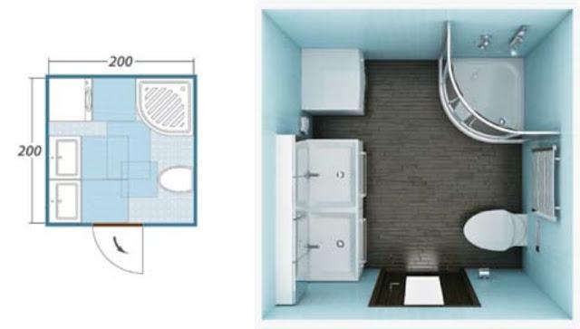 Что делать, если помещение имеет квадратную форму?