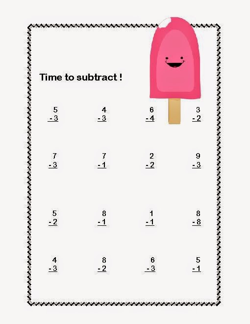 Worksheet 612792 Math Addition and Subtraction Worksheets for – Free Subtraction Worksheets for First Grade