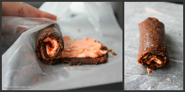 "Make homemade Little Debbie ""Swiss Rolls"" this Halloween! Step-by-Step Tutorial."