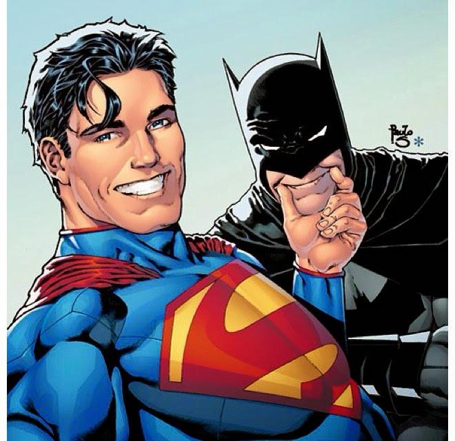 La moda dei selfie contagia anche i supereroi della DC Comics. Immagine by Paulo Siquera