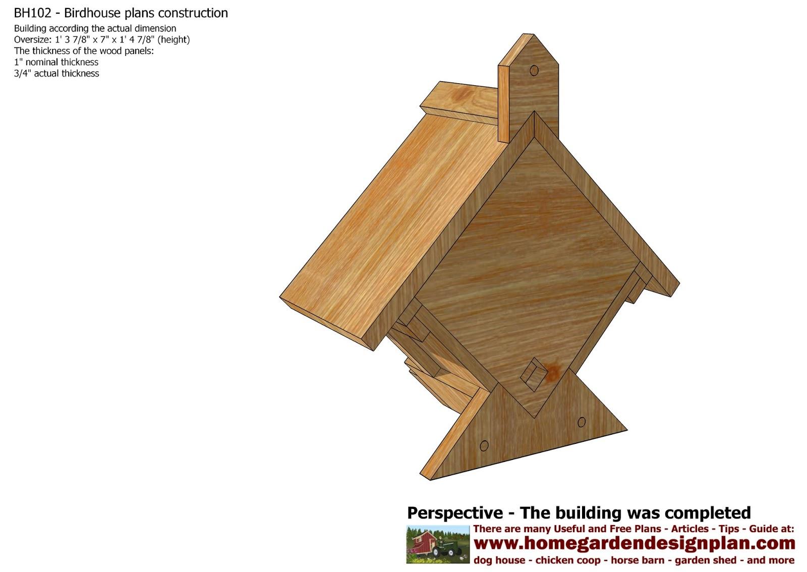 How To Build Bird Houses Joy Studio Design Gallery