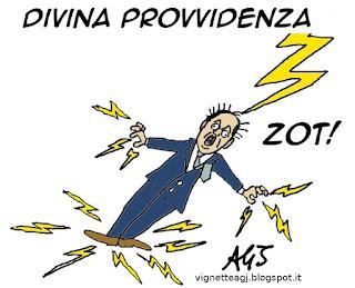 NCD, Alfano, Azzollini, satira vignetta