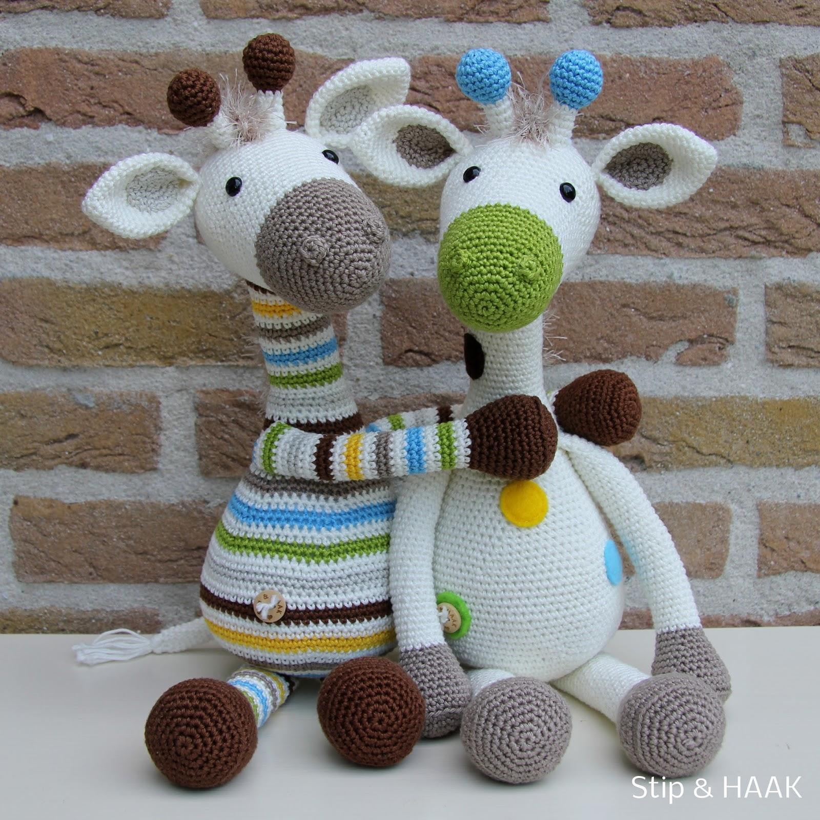 Amigurumi Giraffe Haken : Stip & HAAK: Giraffe Gijs