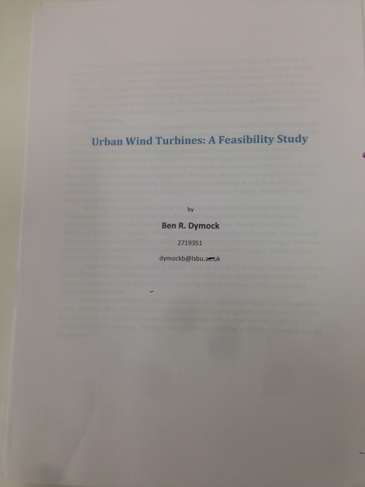 Doctoral thesis defense university of london