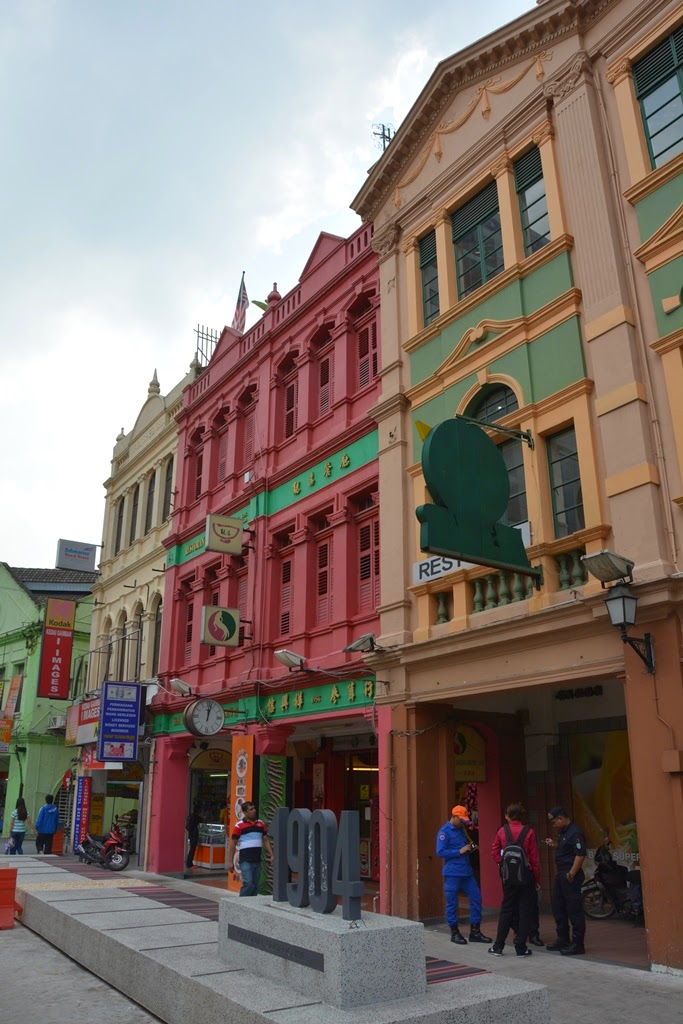 Central Market Kuala Lumpur renovated houses
