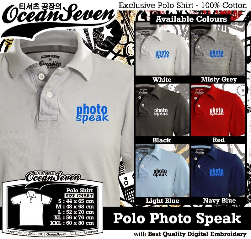 Kaos Polo Photo Speak