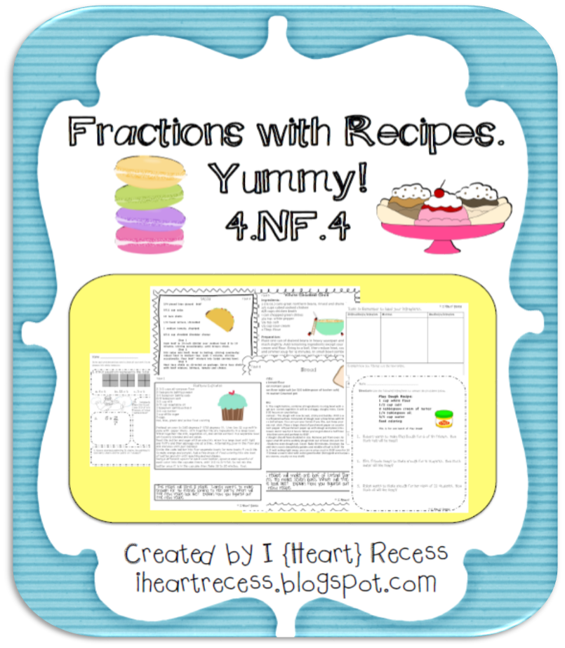 http://www.teacherspayteachers.com/Product/Fractions-with-Recipes-4NF4-613794