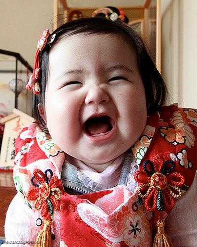 Photo bébé fille japonais