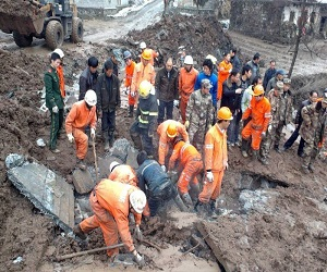 China_Yunnan_Landslide_2013_natural_disaster