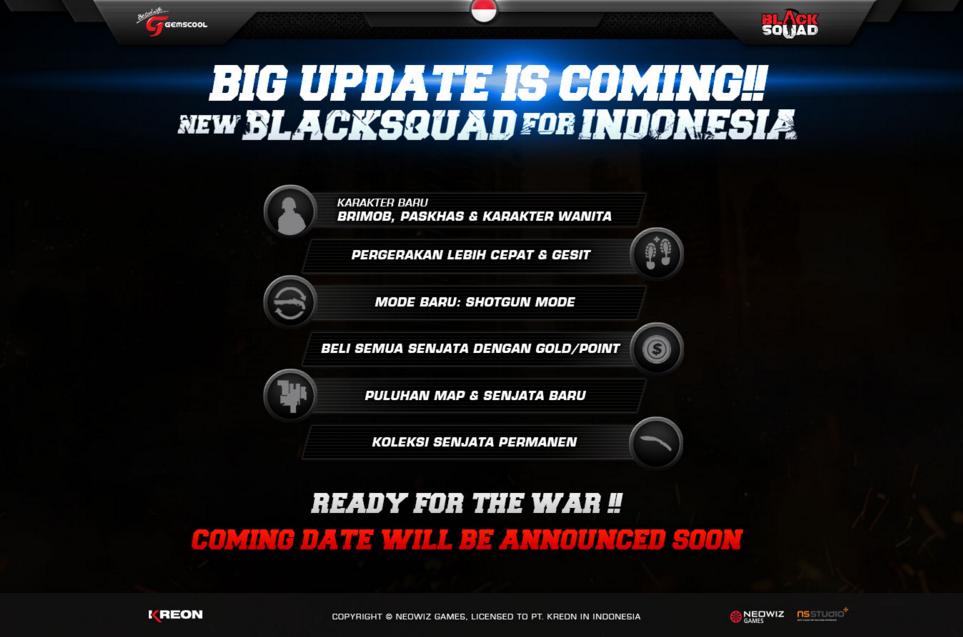Black Squad Indonesia Hadirkan Big Update November dan Banyak Event Menarik