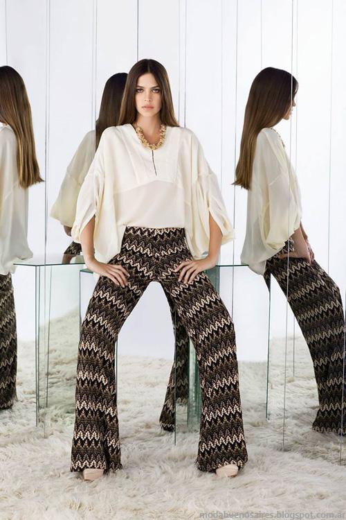 Moda otoño invierno 2014 pantalones.