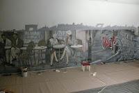 Dekoracyjne malarstwo ścienne, Warszawa, aranżacja pokoju
