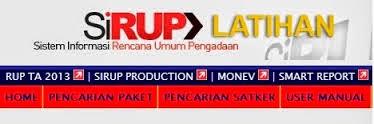 Apakah paket pelelangan yang tidak ditayangkan dalam RUP dapat dilanjutkan prosesnya dan PA yang tidak mengumumkan RUP diberikan sanksi?